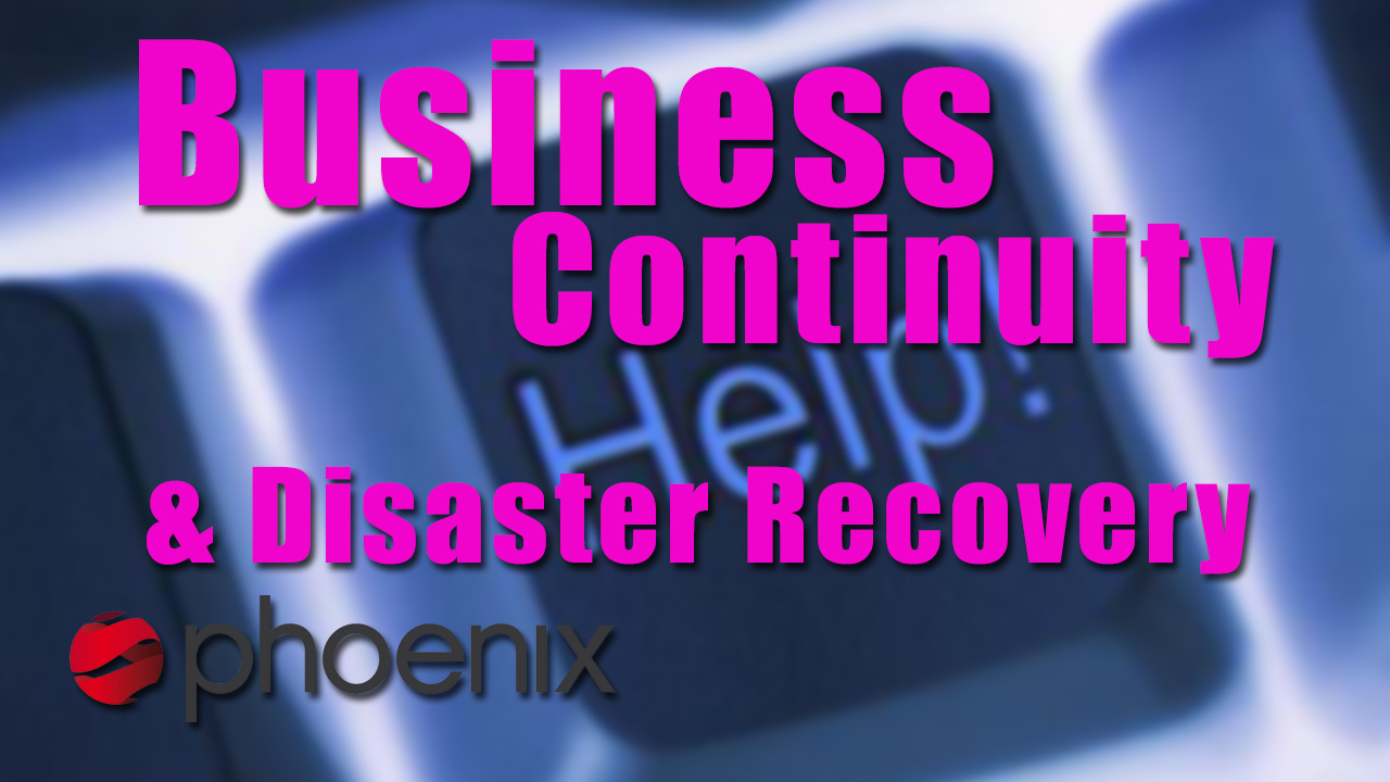 Disaster recovery planning and business continuity planning