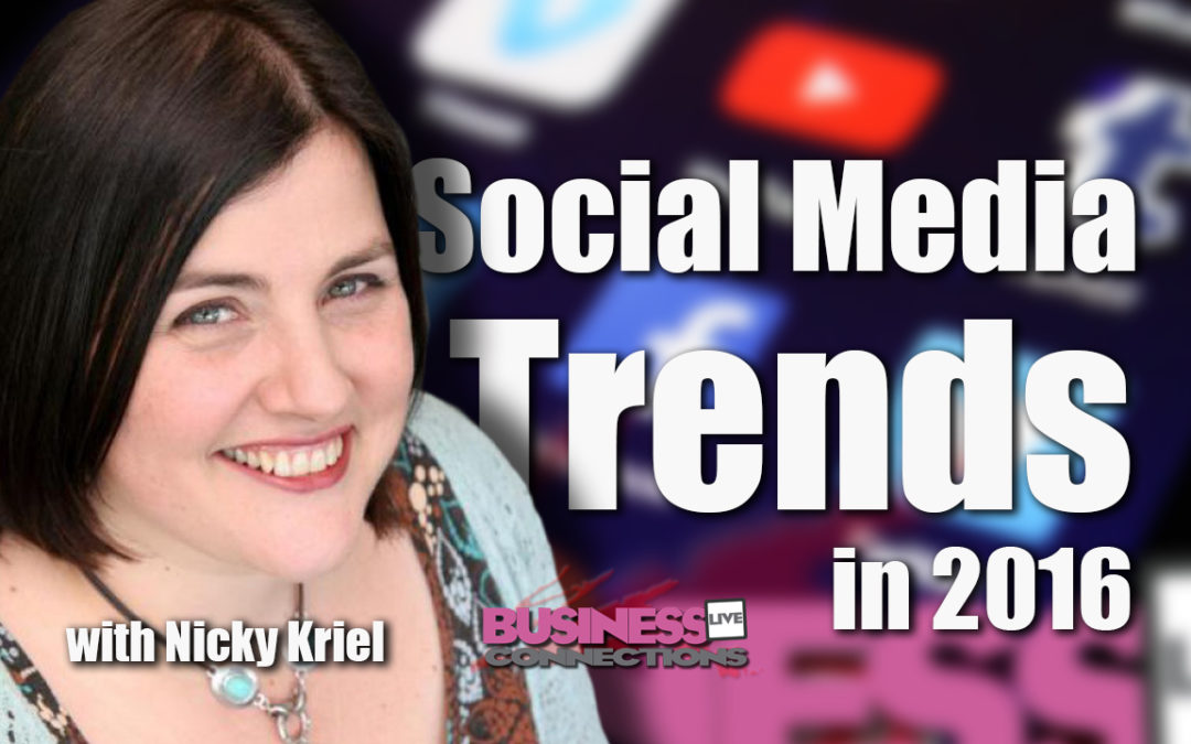 Social Media Trends in 2016 BCL 127
