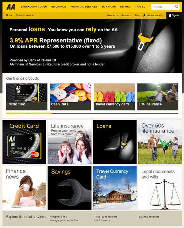 The AA Financial Services