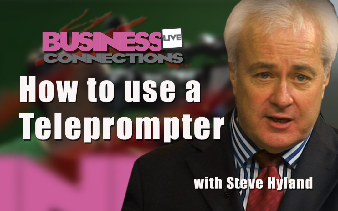 How to use a Teleprompter