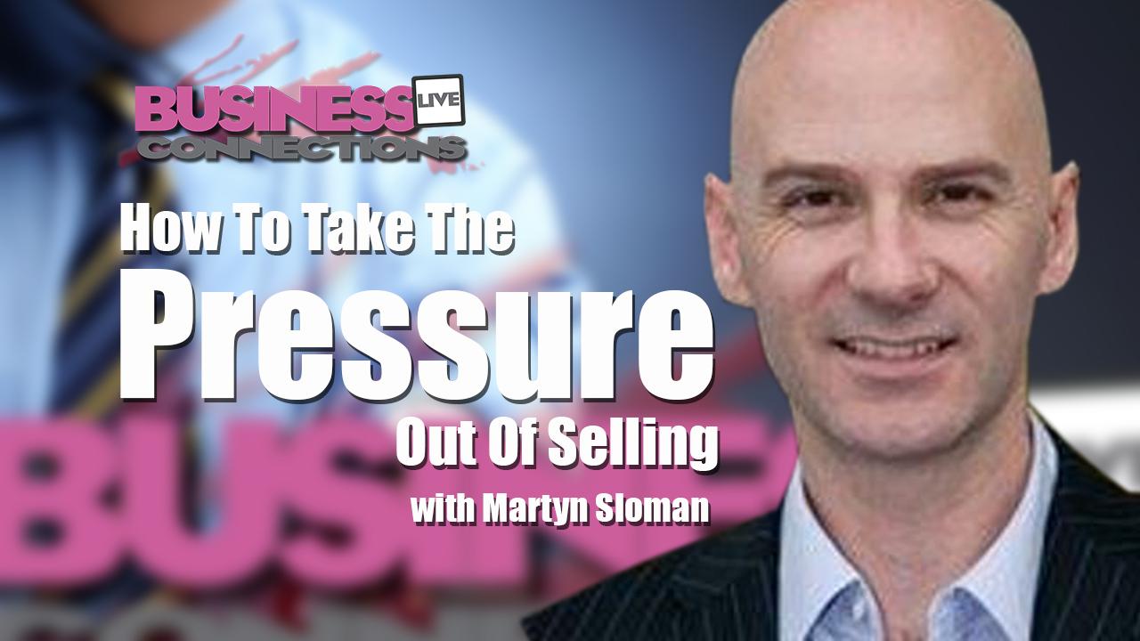 Martyn Sloman Pressure selling