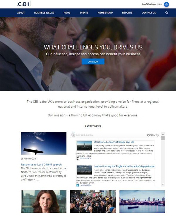 CBI Home Page