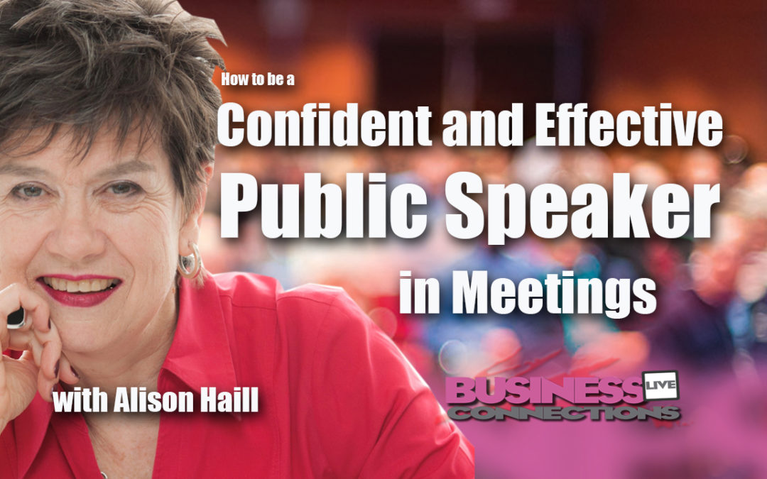 How to be a Confident and Effective Public Speaker in Meetings BCL155