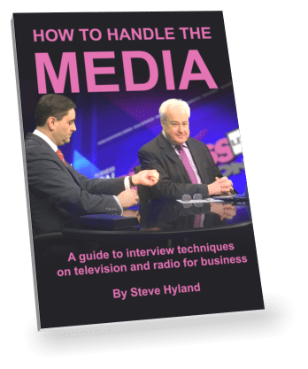 How to Handle the Media written by Steve Hyland. An introduction to Business Connections Live media Training courses.