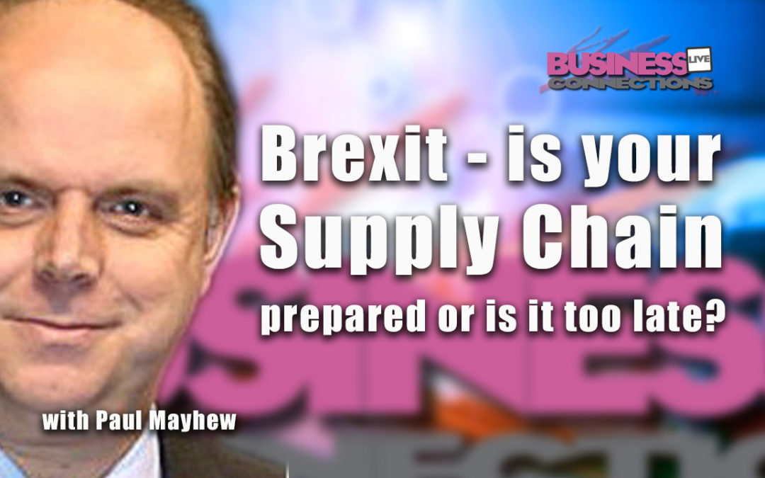 Brexit is nearly upon us and there are many companies out there who seem to still have their heads in the sand. With four months to go, there is still no clear picture of whether we face a hard or soft Brexit, with the key parliamentary vote on the 'divorce deal' planned for December. Is your company prepared for either scenario? If it's 'no deal', what will the effects likely be on companies supply chains in terms of delays, costs, and what actions should companies be taking to understand the risks and what can still be done to mitigate them even at this late stage? Even if the vote goes in favour of the deal, we then move to the ongoing future trade negotiations during the two year transition period..what should companies be looking at during that period?