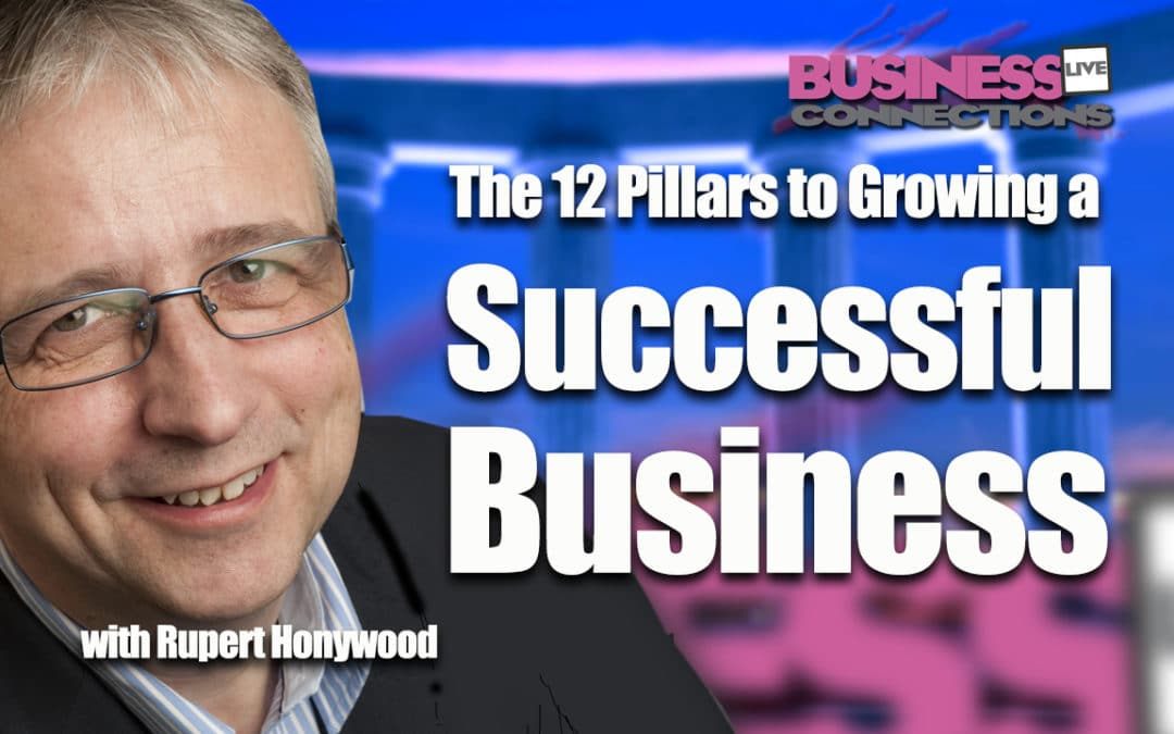 Rupert Honywood Your your twelve pillars to growing a successful business