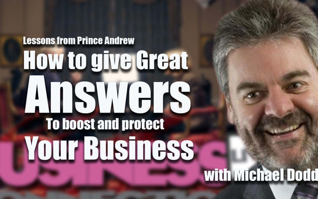 How to give great answers to protect and boost your business BCL279