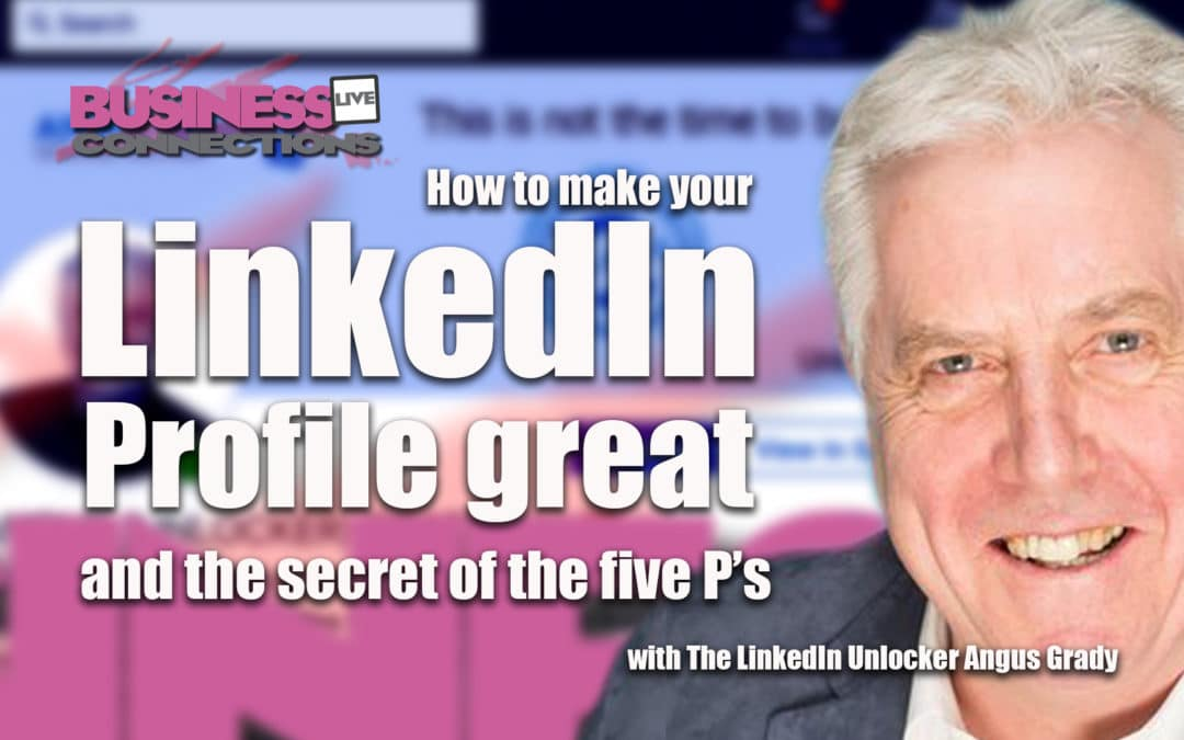 How to make your LinkedIn profile great BCL295