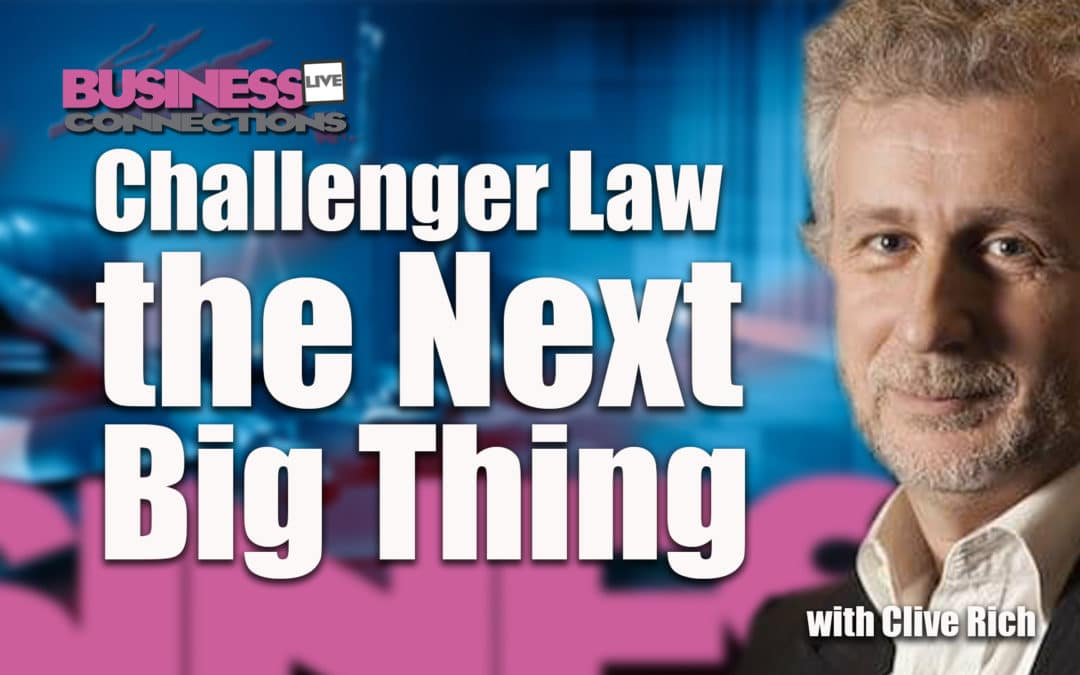 Challenger Law the Next Big Thing BCL294