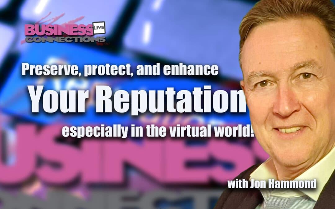 Jon Hammond – The Reputation Coach - www.jon-hammond.com